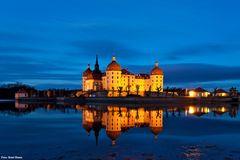 Moritzburg zur blauen Stunde