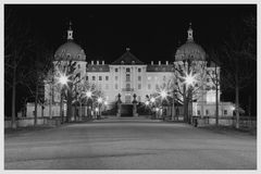 Moritzburger Schloss bei Nacht