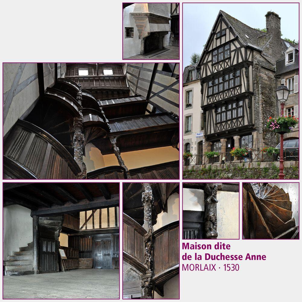 Morlaix · Maison dite de la Duchesse Anne