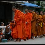 Morning Alms II, Luang Prabang, Laos