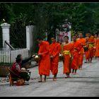 ... Morning Alms in Luang Prabang ...