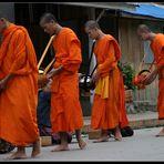 Morning Alms V, Luang Prabang, Laos