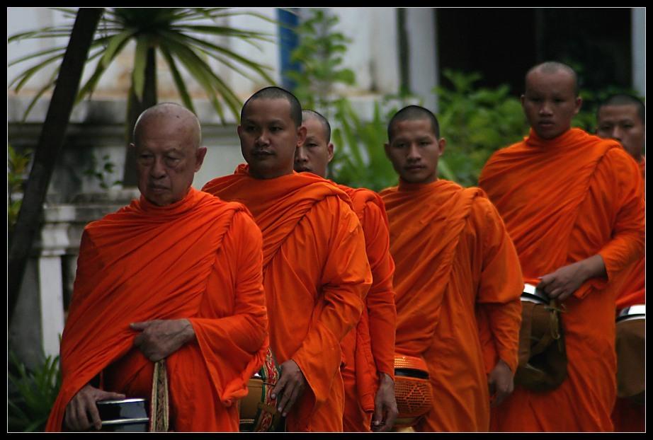 Morning Alms (VI), Luang Prabang, Laos