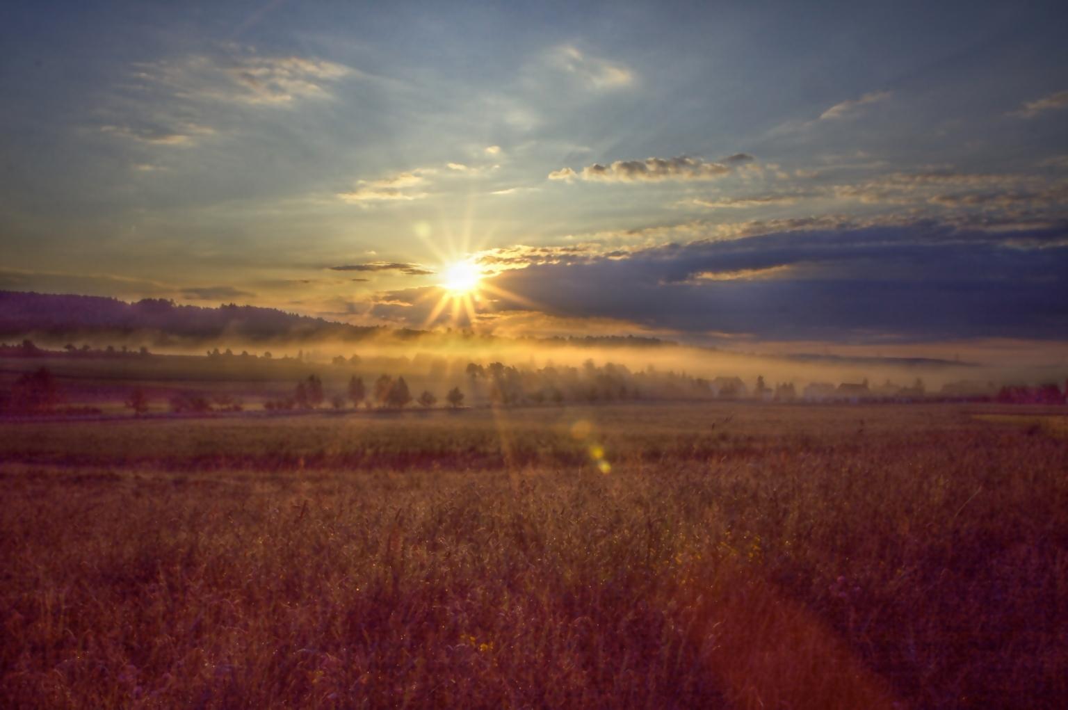 »Morning has broken...«