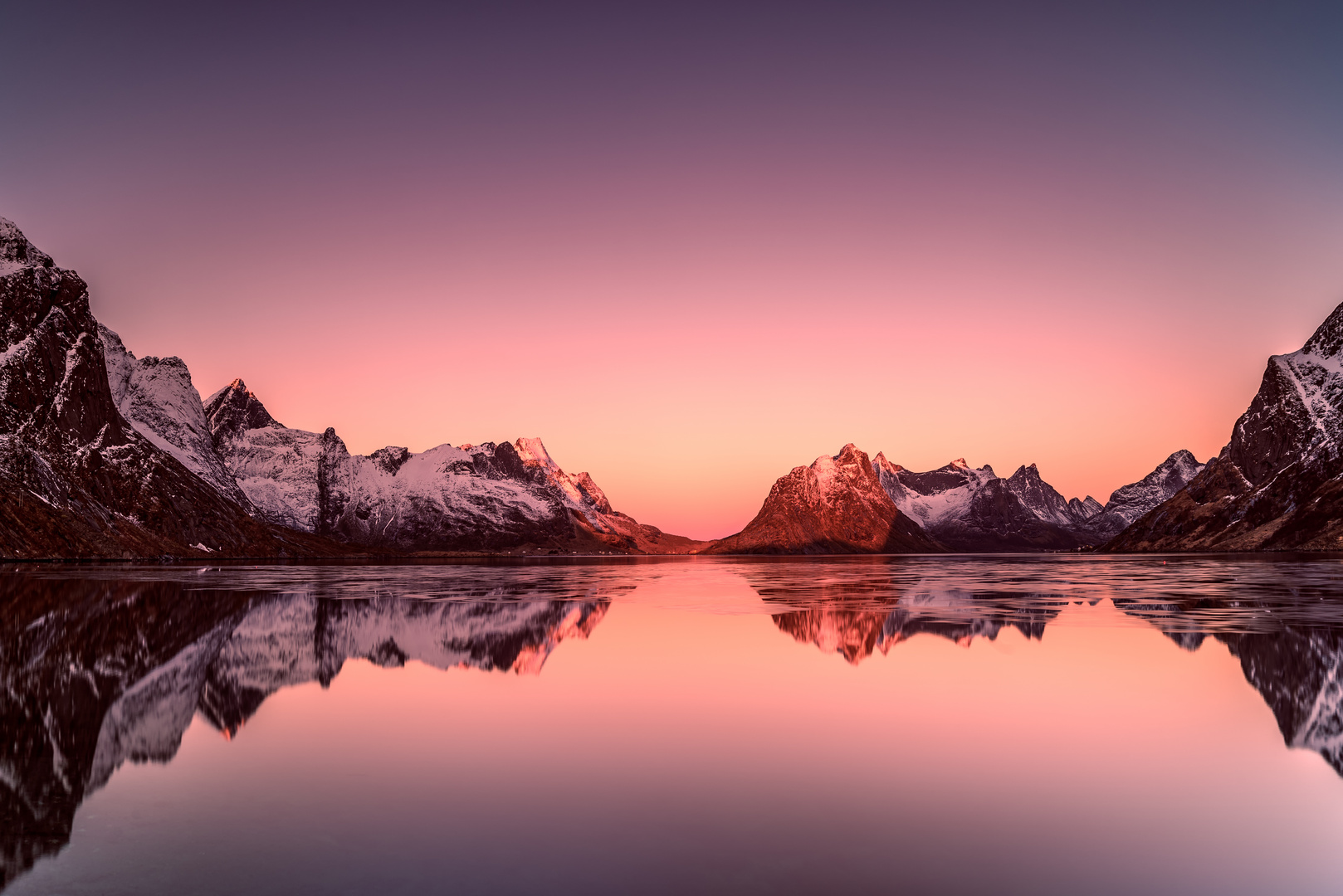 Morning in Lofoten
