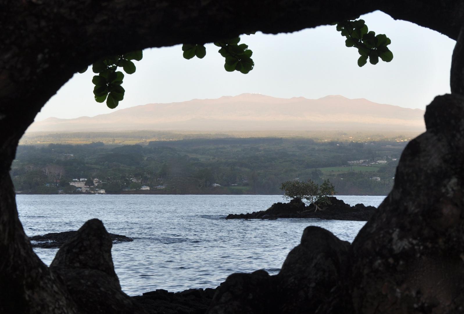 Morning Mist on Mauna Kea