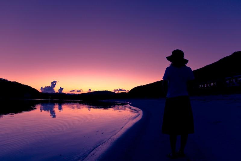 Morning of island