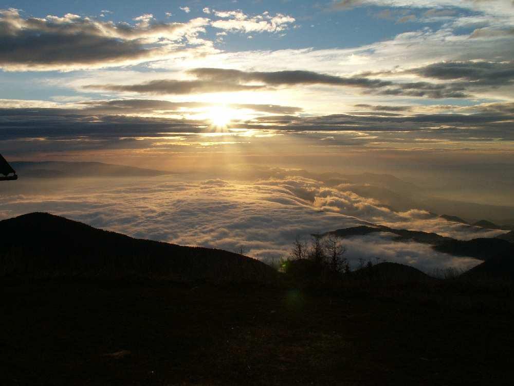 Morning on Urslja gora 2 (Slovenia)
