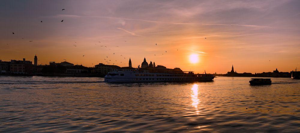Morning Sky in Venice