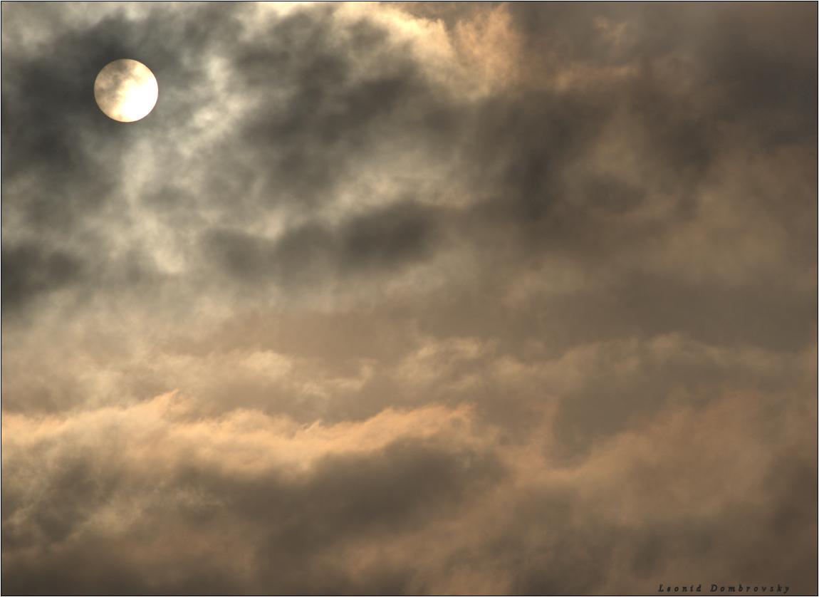 Morning sky of Samaria