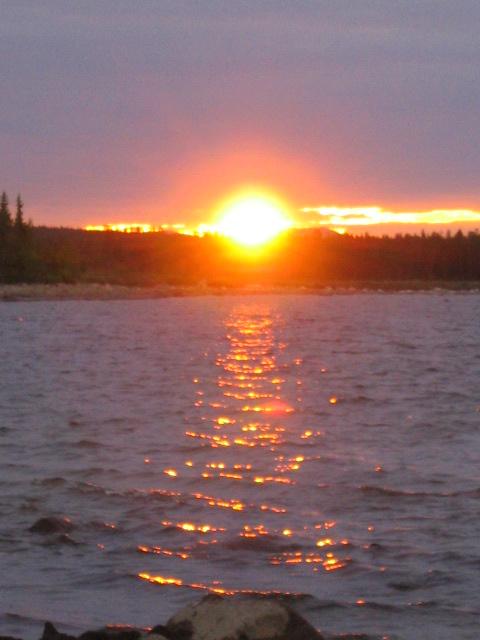 Morning Sun at Storavan