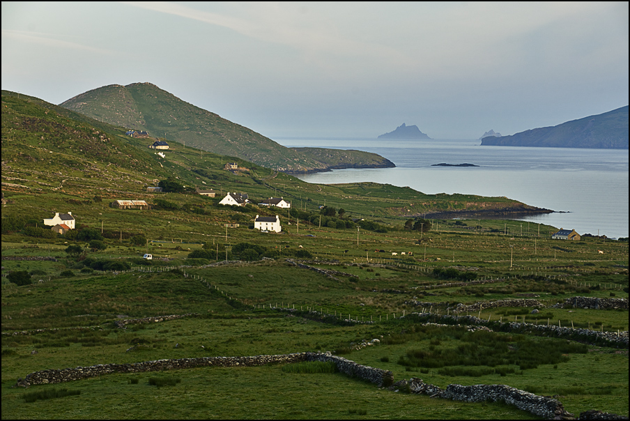 morning view to the Skelligs
