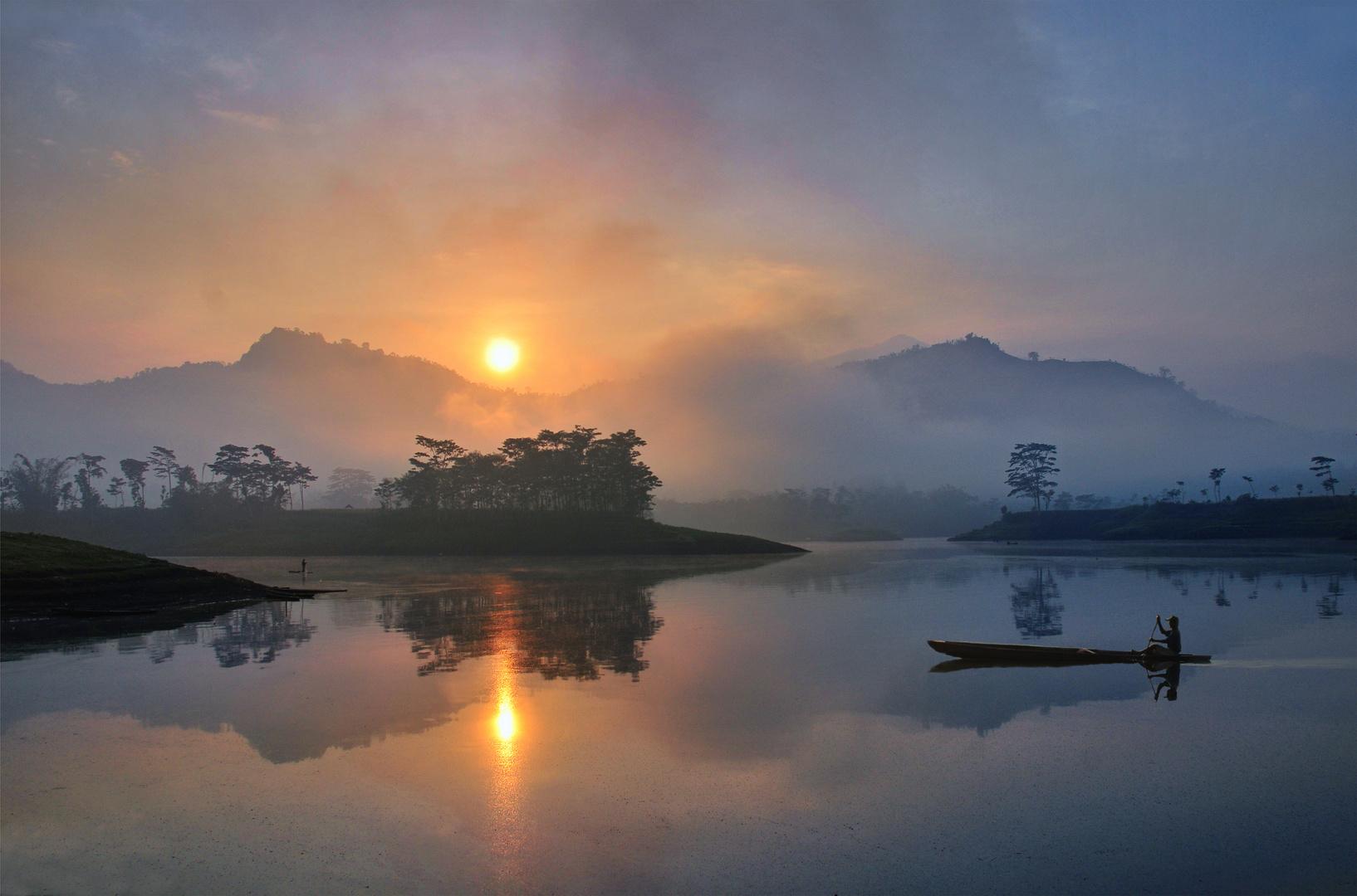 Morninglight at Selorejo
