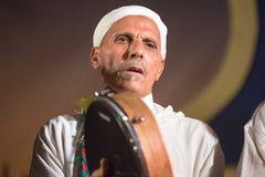 Moroccan bendir player