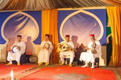 Moroccan music ensemble