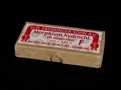 Morphium Ampullen (Umkarton für 10 Stück)