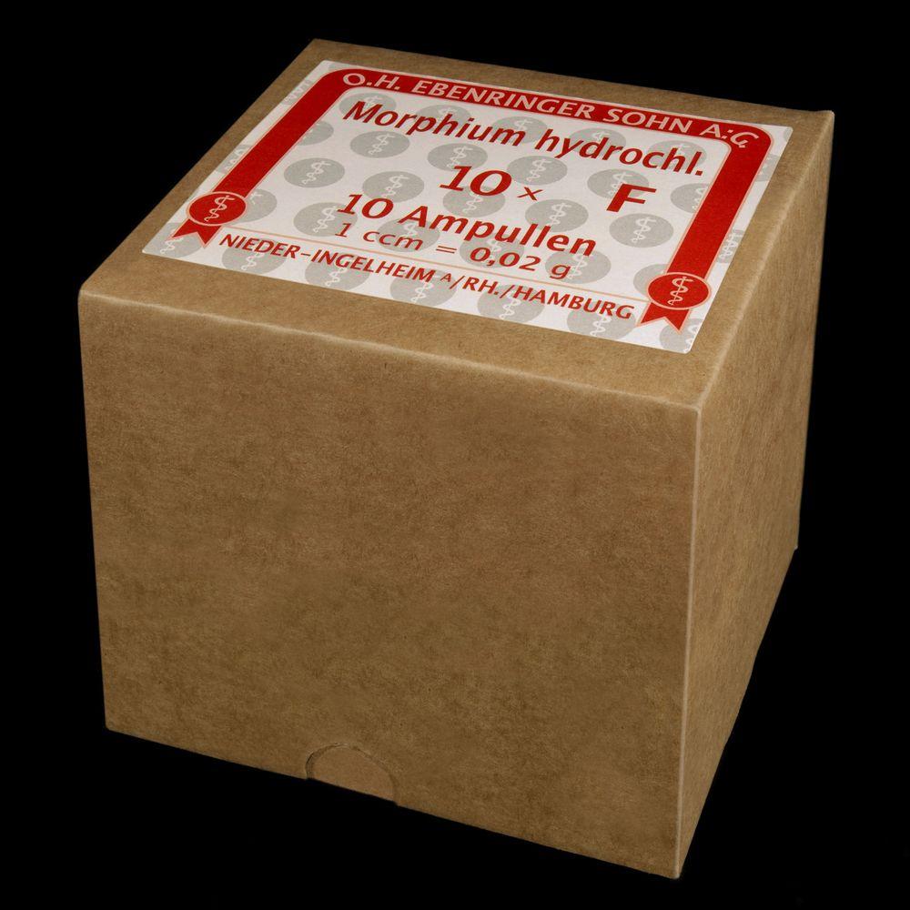 Morphium Ampullen (Umkarton für 10 x 10 Stück)