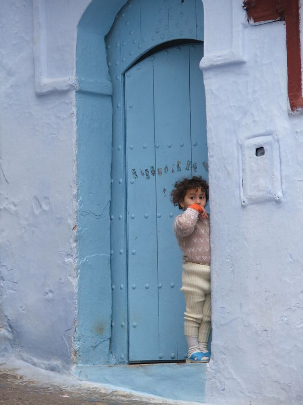 Morrocco child