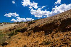 Morsum Kliff im Gegenlicht