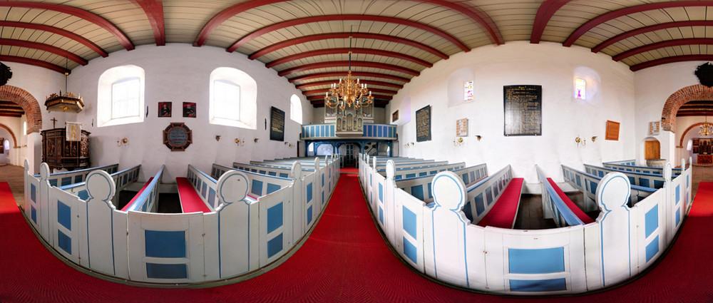 Morsumer Kirche in 360 Grad