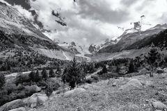 Morteratsch Glacier - Swiss Alps