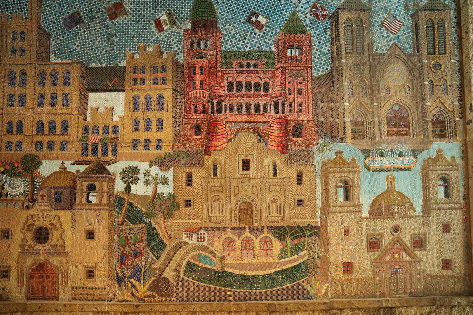 Mosaic at River Walk