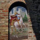 Mosaic pattern of Saint Martin