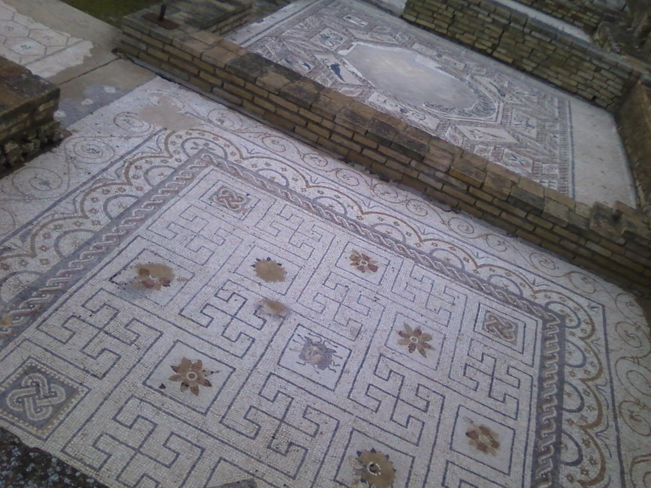 Mosaico de la Casa de la Medusa.