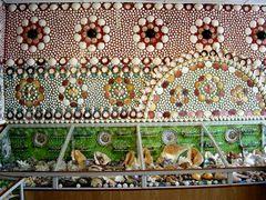 Mosaik aus Muscheln