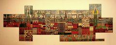 Mosaik-Bild im Eingangsbereich