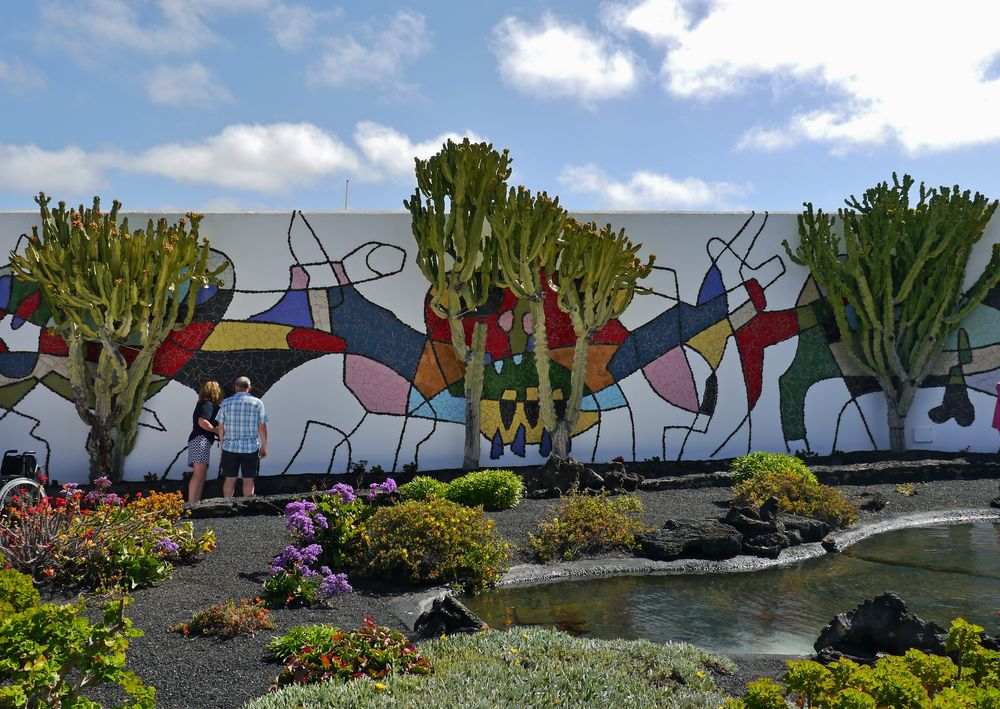 Mosaik im Garten