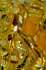 ...Mosaik in der Kuthodaw Pagode...