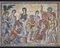 Mosaiken im Haus des Aion VII