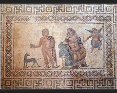 Mosaiken im Haus des Dionysos IV