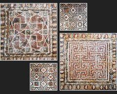 Mosaiken im Haus des Dionysos VI