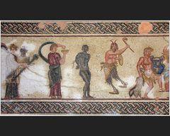 Mosaiken im Haus des Dionysos VIII