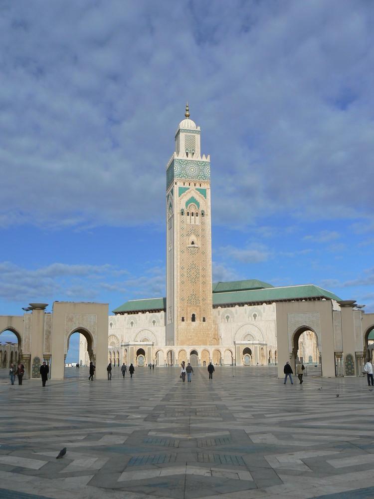 Moschee für Mohamed