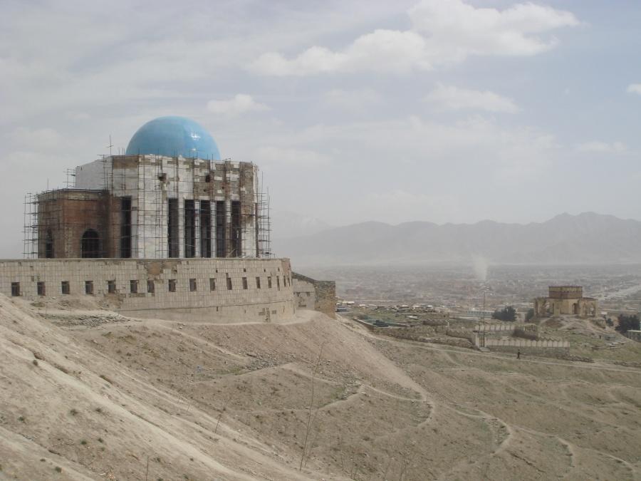 Moschee über Kabul