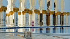 Moschee von Abu Dhabi