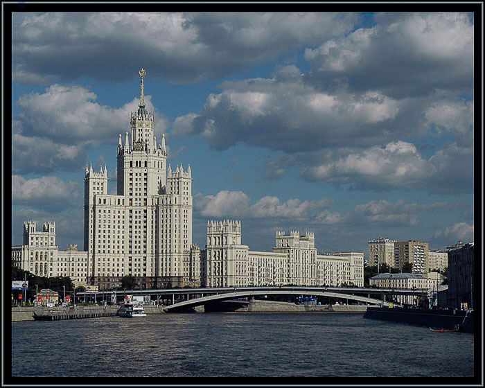 Moscow in Blue