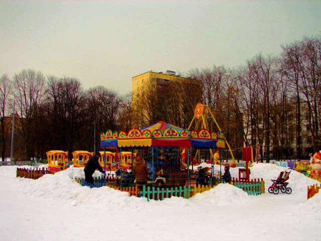 Moscow Playground by Olga Yurlova