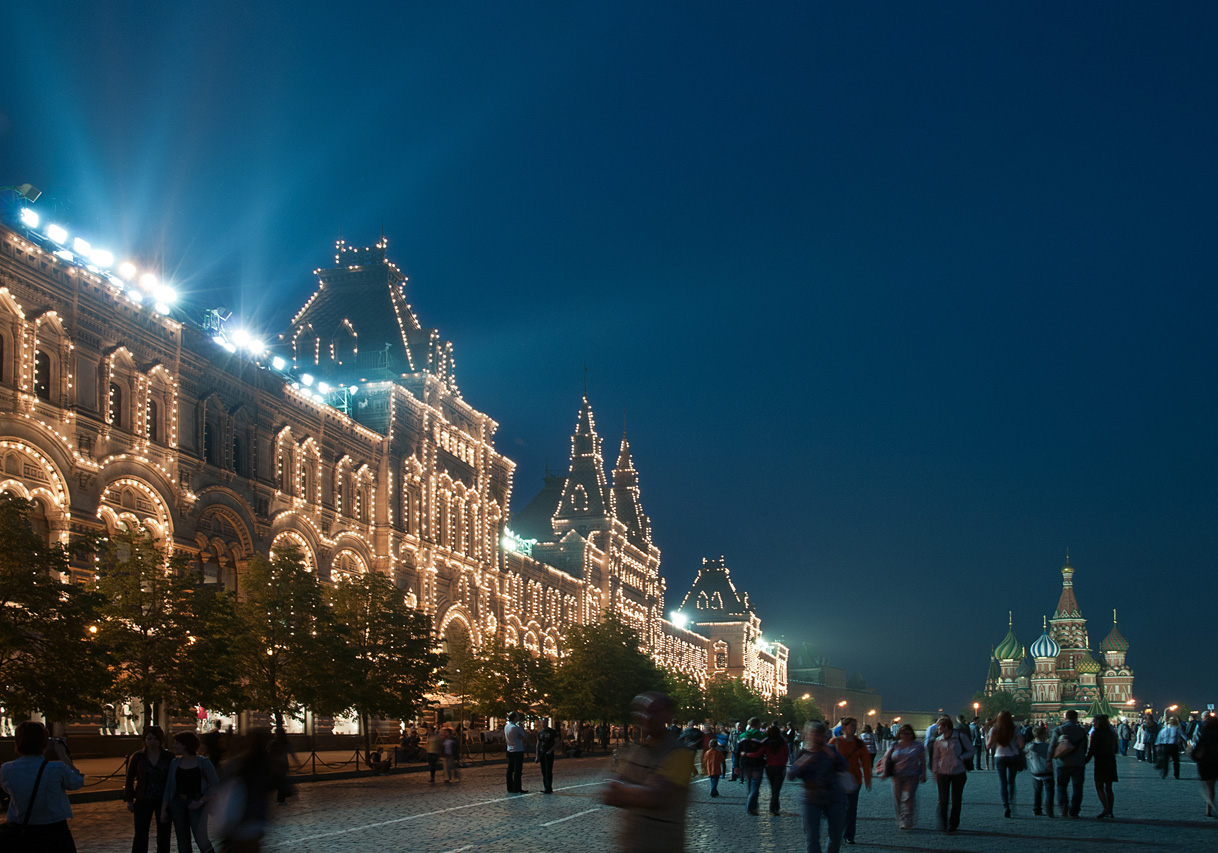 Moscow - Russia - Roter Platz