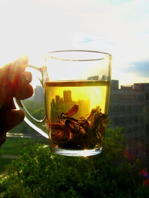 Moscow throught my tea