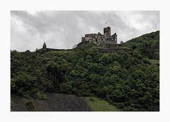 """Mosel - Impressionen """" Blick zur Burg Landshut """""""