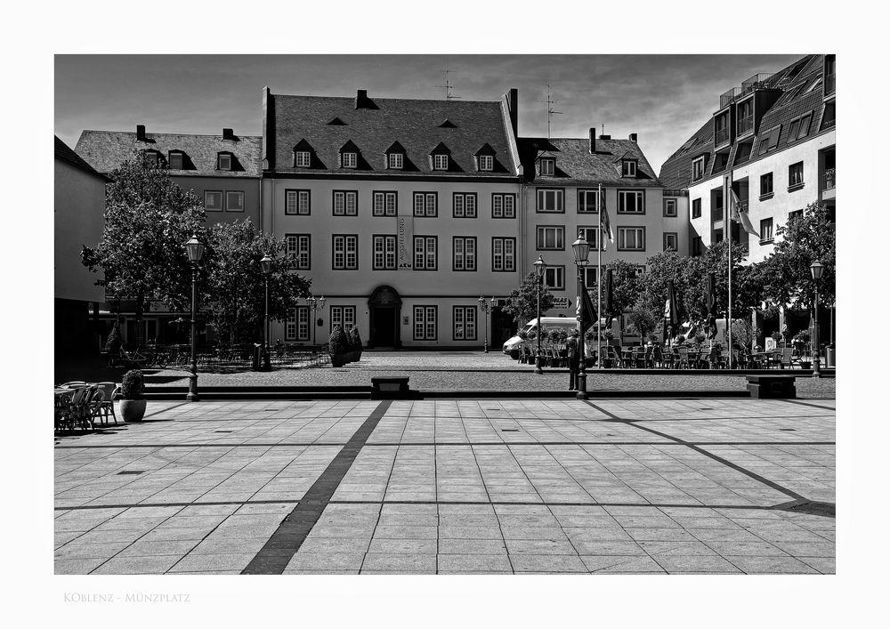 "Mosel - Impressionen "" Koblenz, am Münzplatz """