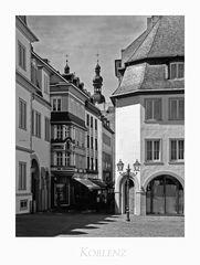"""Mosel - Impressionen """" Koblenz, der Blick vom Jesuitenplatz..... """""""