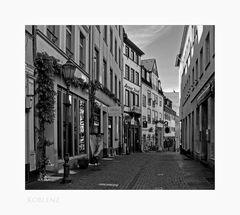 """Mosel - Impressionen """" Koblenz - eine der vielen schönen kleinen Gassen...."""""""