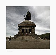 "Mosel - Impressionen "" Koblenz - Kaiser-Wilhelm I. - Denkmal """