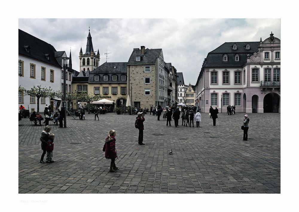 """Mosel - Impressionen """" Trier - am Domplatz """""""
