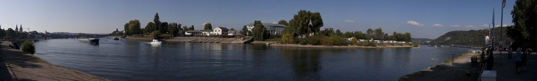 Moselblick in Koblenz